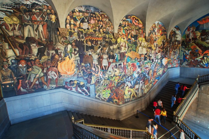 Images from for Diego rivera la conquista mural