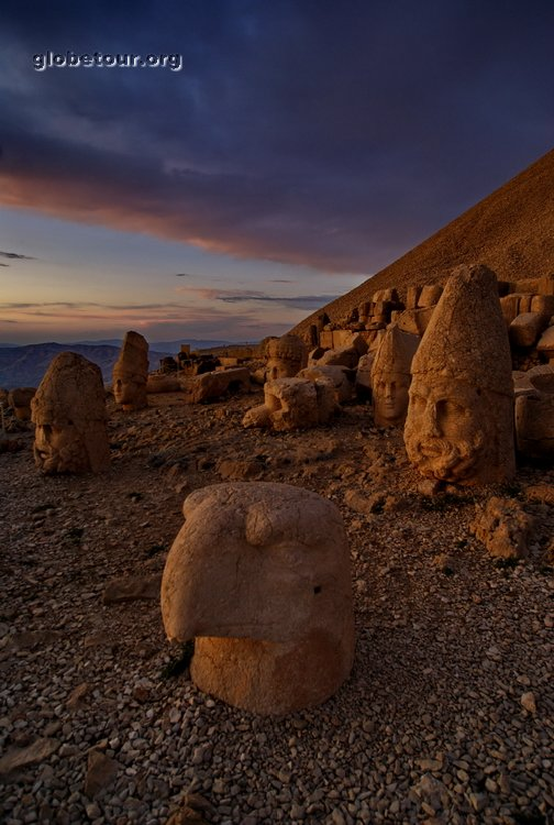 Turkey, mount Nemrut