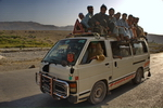 Pakistan,+minivan+going+to+Quetta